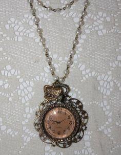pocket watch embellished