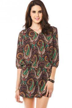paisley print dress  or top!