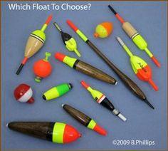 Fishing Bobber Styles