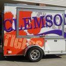 Clemson University Designed Ultimate Tailgate Trailer built by Towable Tailgates!