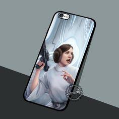 Leia Organa Star Wars - iPhone 7 6 5 SE Cases & Covers #movie #StarWars