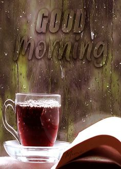 Have a nice day Rainy Morning Quotes, Good Morning Rainy Day, Good Morning Coffee Gif, Good Morning Gif Images, Flirty Good Morning Quotes, Positive Good Morning Quotes, Good Morning Beautiful Pictures, Good Morning Happy, Good Morning Flowers