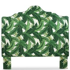 Palm Leaf Headboard