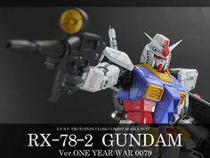 MG RX-78-2ガンダム Ver.ONE YEAR WAR 0079 徹底改修完成品