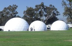 Featured at the U2 360 tour in Pasadena, California, were three Dome Guys domes, featuring the BlackBerry VIP Hospitality Lounge in October 2009, which hosted numerous celebrity guests.