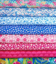 Liberty of London Tana Lawn Bundle: Alice in Wonderland Blue & Pink