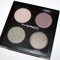 MAC EYESHADOW QUAD MAC Cosmetic - Lady Grey Eyeshadow Quad - Colors gently used. MAC Cosmetics Accessories