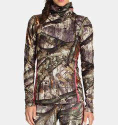 UA ColdGear® Infrared EVO Scrunch Neck Women's Hunting Long Sleeve