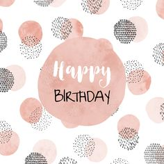 minnie first birthday party Happy Birthday Hand Lettering, Happy Birthday Notes, Happy Birthday Wishes Cards, Birthday Blessings, Happy Birthday Pictures, Best Birthday Wishes, Happy Wishes, Happy Birthday Template, Birthday Quotes