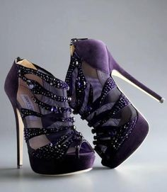 Purple Jimmy Choo Shoes ...... Must have these :P