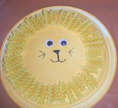 Did you come to our Jungle-themed Wacky Wednesday? Try making this lion at home!