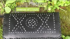 """Hi! My name is """"Layla"""" handmade. I am full leather wallet and 100% handmade by """"avenu_of""""! Visit us on Instagram to find out more about our products!"""