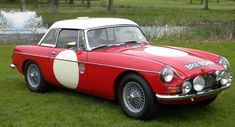 Last-Known MGB Works Rally Car Going Under Auction
