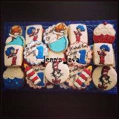 Dr. Seuss cookie order by Jenn