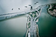 Highways in Macau | China(by d3sign)