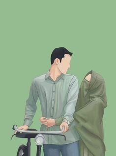 Frq nhi padta teri or se. Love Cartoon Couple, Chibi Couple, Cute Love Cartoons, Cute Cartoon Wallpapers, Cartoon Pics, Cute Muslim Couples, Cute Couples, Creative Profile Picture, Book Cover Background