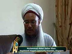 Muhammad Abdul Sattar Khan, Şeyh Nazım El Kıbrisi Hazretleri'nin Singapur temsilcisi A9 İçin ne dedi?