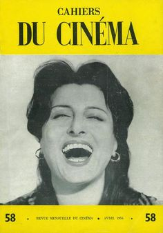 Anna Magnani on the cover of Cahiers du Cinema Anna Magnani, Francois Truffaut, Beautiful Girl Body, Dramatic Arts, Movie Magazine, Scene Image, Cinema Movies, Great Films, Journal Covers