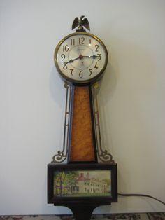Sessions Model 2W Banjo Electric Wall Clock