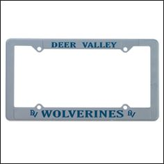 Gray Custom auto frames. Gray Plastic Printed car frames w/ custom printed text. Gray Promotional license plate frames 4 dealership supplies. Gray custom plastic car frames R promotional auto frames & promotional products wholesale 4 dealerships. CUSB117 Philadelphia PA http://www.alphapromoworld.com/auto/cycle-products/wholesale-license-plate-frames/custom-license-plate-frames/cat_117.html 321-751-0022