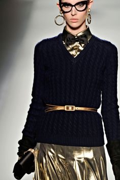 Moschino goes sophisticated chic this season!