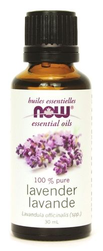 NOW Essential Oils Lavender Oil  - 100% Pure $14.29 - from Well.ca