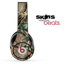 Real Camouflage V3 Skin for the Beats by Dre Studio, Solo, MIXR, Pro or Wireless Version Headphones