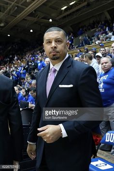 DURHAM, NC - NOVEMBER 11: Duke assistant coach Jeff Capel. The... #capelbangor: DURHAM, NC - NOVEMBER 11: Duke assistant… #capelbangor