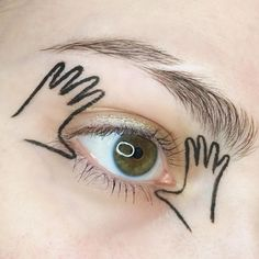Idée Maquillage 2018 / 2019 : Use the subtle power of make up to say Look me in the eye when I'm talking Makeup Inspo, Makeup Inspiration, Beauty Makeup, Hair Makeup, Eye Makeup Art, Body Makeup, Make Up Looks, Make Up Art, How To Make