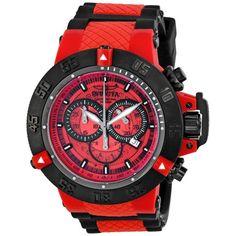 e15862699bac Invicta Subaqua Noma III Anatomic Chronograph Red Men s Watch 0938