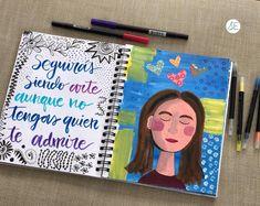 Todas somos lindas⠀ Muchas veces vemos un dibujo, una ilustración, una obra de arte y no sabemos si nos parece bonita o no. . El arte es…