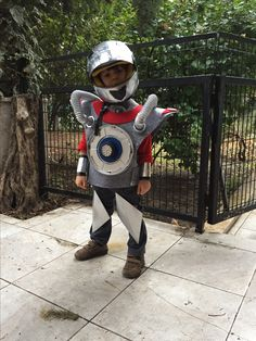 Made by dad  #robotcostume #robot #diy #costume #robot