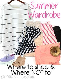 Summer Outfit Ideas | Girlfriends Are Like Shoes