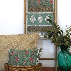 Colección Green 100% algodón y estampado a mano.