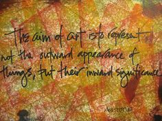 Art, Lettering & Life: Quotes about Art