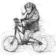 Monkey de ©Vince Low