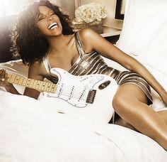Whitney Houston le posant dans ce nouveau plan de promotion pour son monde prochaine tournée 'Nothin' But Love '
