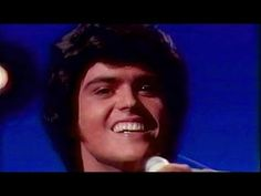 """wiw what an oldie. Donny Osmond - """"When I Fall In Love"""""""