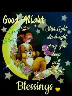 Good night sister and all, have a restful night♥★♥.