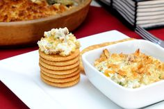 Jalapeno Popper Dip. Pretty sure this is not on-plan, but what a fun dip for a football party!  Roll Tide.