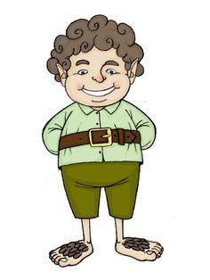 Draw a Hobbit -- via wikiHow.com