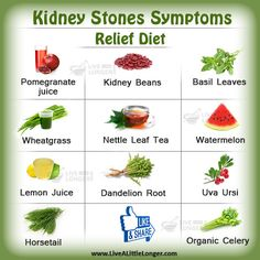 Healthy Eating Guidelines For Prevention of Recurrent Kidney Stones