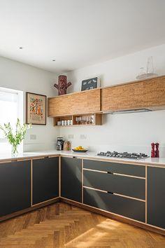 Super Ideas for plywood furniture projects wood flooring Design Lounge, Design Loft, Küchen Design, Design Trends, Cafe Design, Bakery Design, House Design, Home Decor Kitchen, Interior Design Kitchen