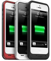 Mophie Juice Pack Air for iPhone 5 - charge your phone 100 % offering 10 additional hours on video watch, 40 hours on audio, 8 hours on 3G, LTE network and 10 hours on Wi-Fi.