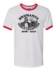 a1995b6a2c Bromance World Champions - Obama and Biden - Democrat Progressive Liberal T- Shirt by MoireDesigns