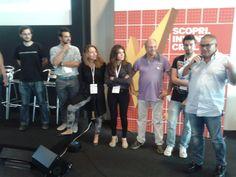 Gruppo Augh. Premio da Slamp. Ma anche premio #MakeFaire Roma. #hackliving