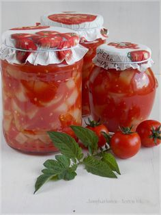 Hungarian Recipes, Pickles, Salads, Food And Drink, Healthy Recipes, Canning, Meat, Vegetables, Drinks
