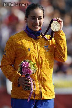 ¡@Mariana_Pajon vale Oro! Demuestra que en la #Actitud está el cambio. Gracias por traernosla #MedallaDeOro desde #Londres2012