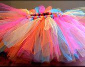 Girl Tutu, Baby Tutu, Child Tutu, Birthday Tutu, Colorful Tutu, Party Tutu, Newborn to 5T