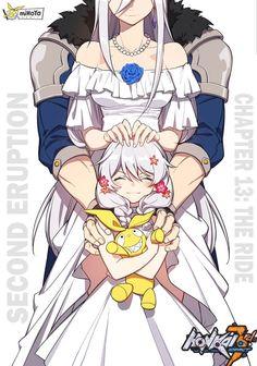 I am jealous of thet goddam doll. Art Anime, Anime Art Girl, Manga Anime, Game Character, Character Concept, Character Design, Bebe Anime, Familia Anime, Anime Lindo